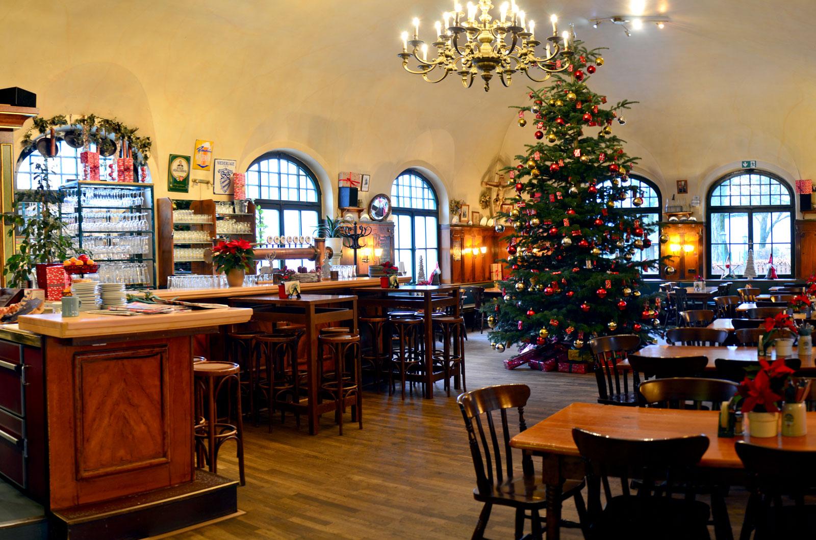 Weihnachtszeit im Zollhäusl, Freilassing, Familie Langer